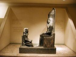 stateus in Luxor musemum